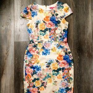 Betsey Johnson Floral Dress Size 8